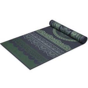 Gaiam 6mm Boho Folk Reversible Yoga Mat
